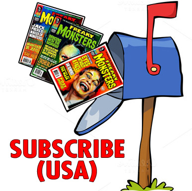 USA: Subscribe to Freaky Monsters #28-30