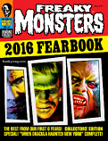 Freaky Monsters 2016 Fearbook (Pre-Order w/ Bonus)